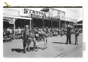 Jack Hendrickson With Pet Burro Number 2 Helldorado Days Parade Tombstone Arizona 1980 Carry-all Pouch