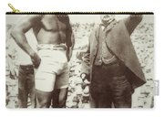 Jack Johnson - Heavyweight Boxing Champion  1908 - 1915 Carry-all Pouch