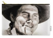 Jack Palance, Vintage Actor Carry-all Pouch