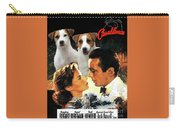 Jack Russell Terrier Art Canvas Print - Casablanca Movie Poster Carry-all Pouch