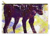 Jackal Children Watercolor Animal  Carry-all Pouch