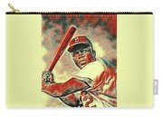 Jackie Robinson Baseball Player Carry-all Pouch