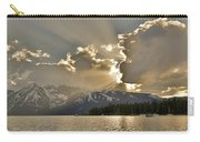 Jackson Lake Sunset View Carry-all Pouch
