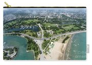Jackson Park In Chicago Aerial Photo Carry-all Pouch