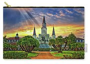 Jackson Square Evening Rays Carry-all Pouch