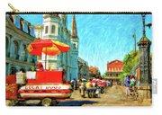 Jackson Square Oil Carry-all Pouch by Steve Harrington