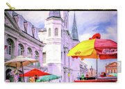 Jackson Square Scene - Painted - Nola Carry-all Pouch