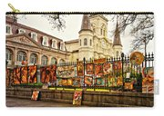 Jackson Square Winter - Artistic Carry-all Pouch