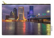 Jacksonville At Dusk Carry-all Pouch