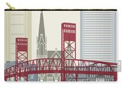 Jacksonville Skyline Poster Carry-all Pouch