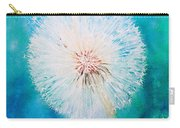 Jade Dandelion Carry-all Pouch