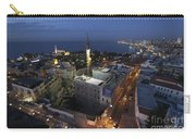Jaffa At Night Aerial View Carry-all Pouch