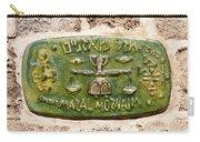 Jaffa, Libra Zodiac Street Sign  Carry-all Pouch