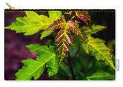 Jagged Leaves Carry-all Pouch