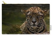 Jaguar In The Water Carry-all Pouch