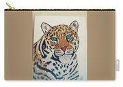 Jaguar Painting Carry-all Pouch