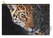 Jaguar Portrait Carry-all Pouch