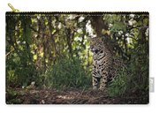 Jaguar Sitting In Trees In Dappled Sunlight Carry-all Pouch