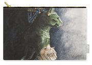 Jake And The Ancestors-pet Portrait Carry-all Pouch