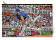 Jake Arrieta Chicago Cubs Pitcher Carry-all Pouch