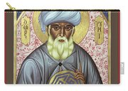Jalal Ud-din Rumi Of Persia - Rljur Carry-all Pouch