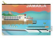 Jamaica Horizontal Scene Carry-all Pouch