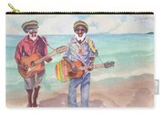 Jamaican Musician Watercolor Carry-all Pouch