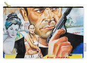 James Bond Dr.no 1962 Carry-all Pouch