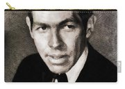 James Coburn, Vintage Actor Carry-all Pouch