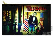 James Dean On Route 66 Carry-all Pouch by Susanne Van Hulst