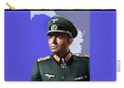 James Mason As Erwin Rommel Publicity Photo The Desert Fox 1951 Color Added 2016 Carry-all Pouch