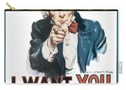 I Want You For U.s. Army Carry-all Pouch