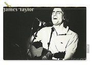 James Taylor Poster Carry-all Pouch