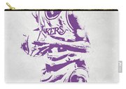 James Worthy Los Angeles Lakers Pixel Art Carry-all Pouch