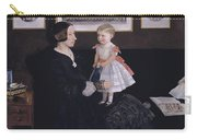 James Wyatt Jr And Her Daughter Sarah Carry-all Pouch