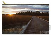 Jamestown Forest Loop Sunset Carry-all Pouch
