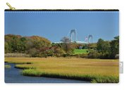 Jamestown Marsh With Pell Bridge Carry-all Pouch
