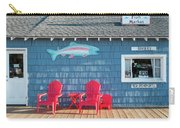 Jamsen's Fish Market Copper Harbor Michigan Carry-all Pouch by Mary Lee Dereske