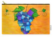 Jamurissa - Square Grapes Carry-all Pouch