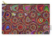 Janca Abstract Panel #097e10 Carry-all Pouch