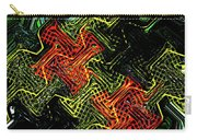 Janca Abstract Panel #5473w3 Carry-all Pouch
