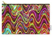 Janca Abstract Wave Panel #5at Carry-all Pouch