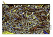 Janca Oval Abstract 4917 W3a Carry-all Pouch