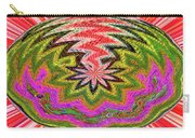 Janca Pink Color Panel Abstract #5212 Wtw6 Carry-all Pouch
