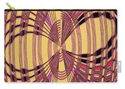 Janca Red And Yellow Abstract  Carry-all Pouch