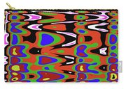 Jancart Drawing Abstract #8455pcws Carry-all Pouch