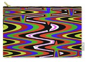 Jancart Drawing Abstract #8455ws Carry-all Pouch