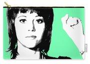 Jane Fonda Mug Shot - Mint Carry-all Pouch
