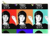 Jane Fonda Mug Shot X9 Carry-all Pouch