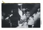 Janelle Monae Playing Live Carry-all Pouch